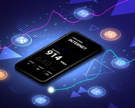 High-Speed Internet Smartphones