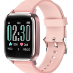 """Lintelek smartwatch with 1.3"""" LCD full touch screen"""