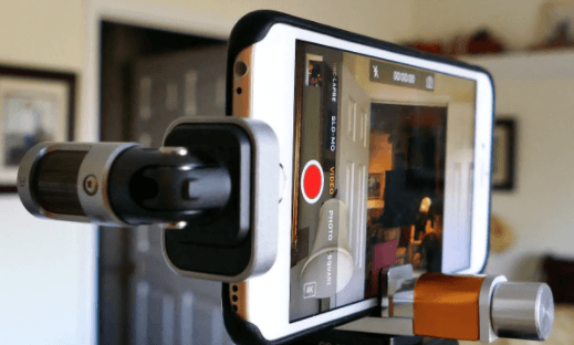 Lightning Microphone for iPhone for filmmaking