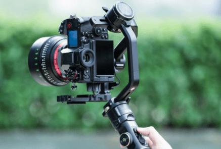 Latest Upgraded 4K UHD Smart Palm-Sized Gimbal Camera